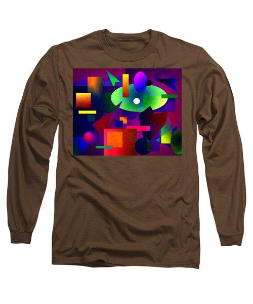 Abstract 74 Long Sleeve T-Shirt