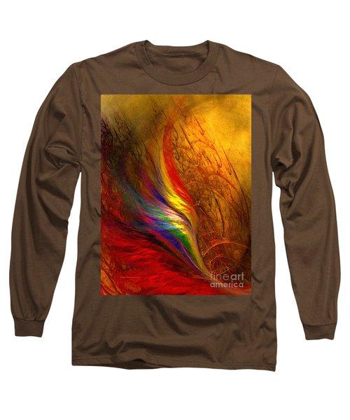 Abstract Art Print Sayings Long Sleeve T-Shirt
