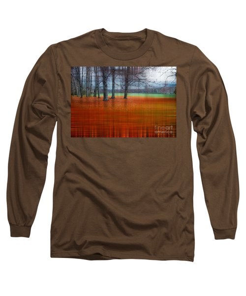 abstract atumn II Long Sleeve T-Shirt