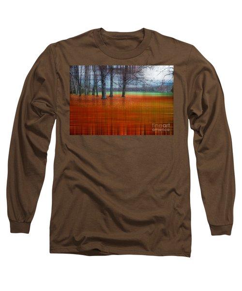 abstract atumn II Long Sleeve T-Shirt by Hannes Cmarits