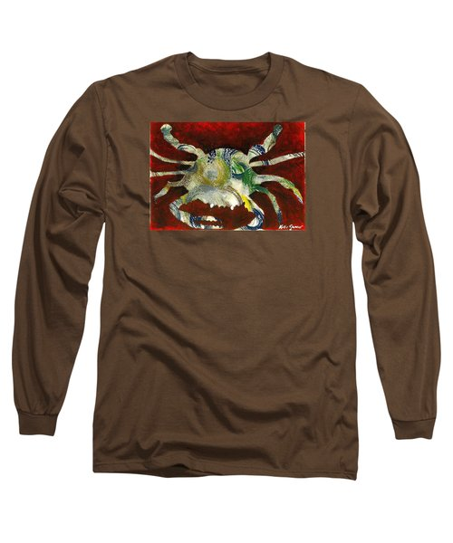 Abstract Crab Long Sleeve T-Shirt