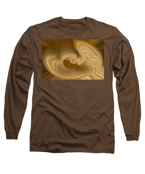 Long Sleeve T-Shirt featuring the photograph Abstract Design by Charles Beeler