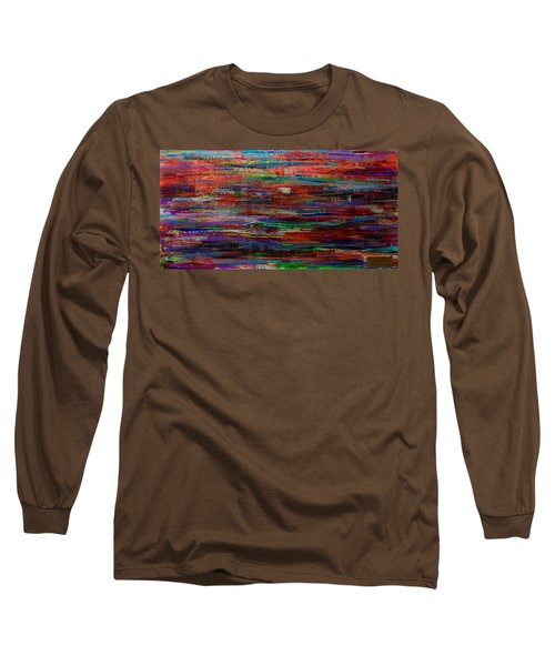 Abstract In Reflection Long Sleeve T-Shirt