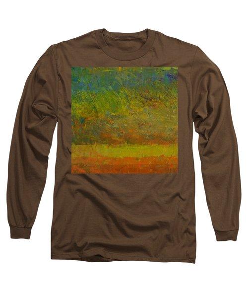 Abstract Landscape Series - Golden Dawn Long Sleeve T-Shirt