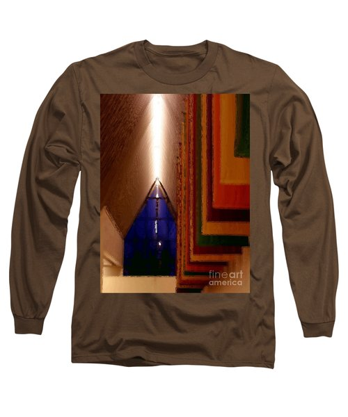 Abstract - Center For The Arts Interior Allentown Pa Long Sleeve T-Shirt