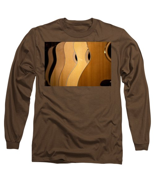 Long Sleeve T-Shirt featuring the photograph Acoustic Design by John Rivera