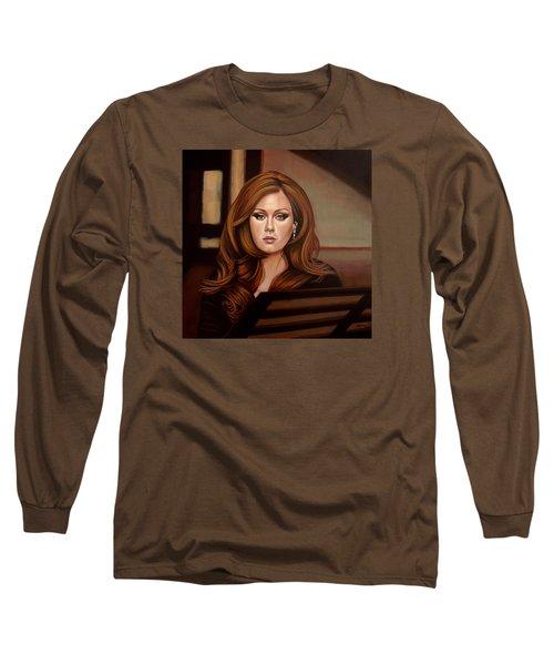 Adele Long Sleeve T-Shirt by Paul Meijering