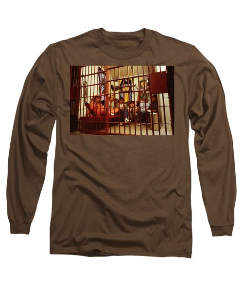 Aerosmith - In A Cage 1980s Long Sleeve T-Shirt by Epic Rights