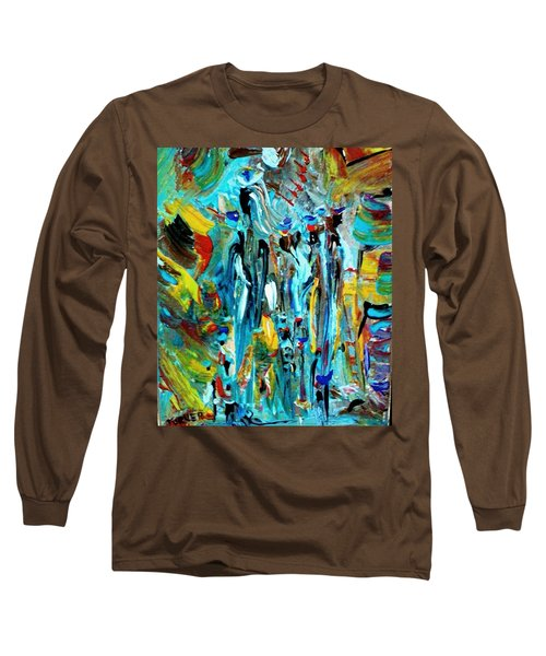 African Tribe Festivals Long Sleeve T-Shirt by Kelly Turner