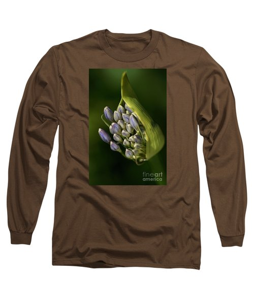 Long Sleeve T-Shirt featuring the photograph Agapanthus by Joy Watson
