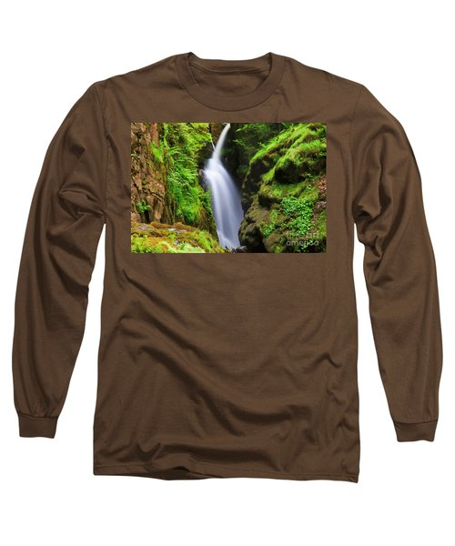 Aira Force In Lake District National Park Long Sleeve T-Shirt