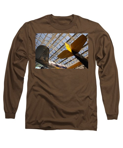 Airplane Rudders Long Sleeve T-Shirt