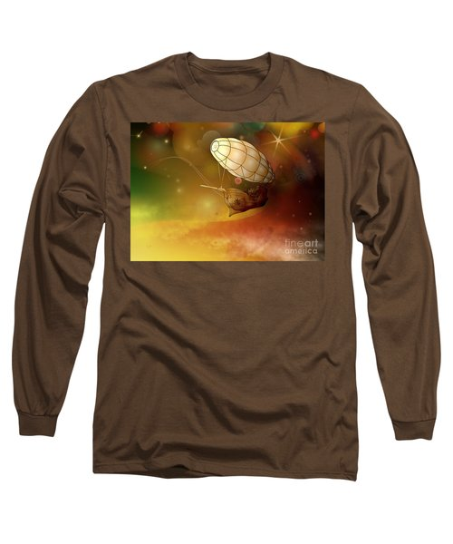 Airship Ethereal Journey Long Sleeve T-Shirt