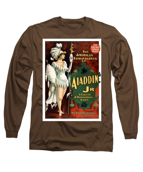 Aladdin Jr Amazon Long Sleeve T-Shirt