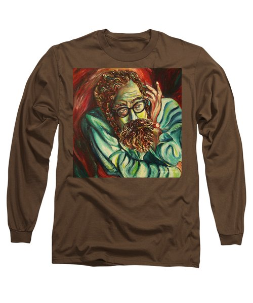 Alan Ginsberg Poet Philosopher Long Sleeve T-Shirt