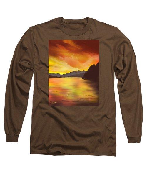 Alaska Sunset Long Sleeve T-Shirt