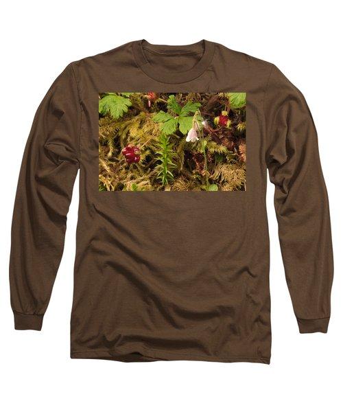 Alaskan Forest Floor Long Sleeve T-Shirt