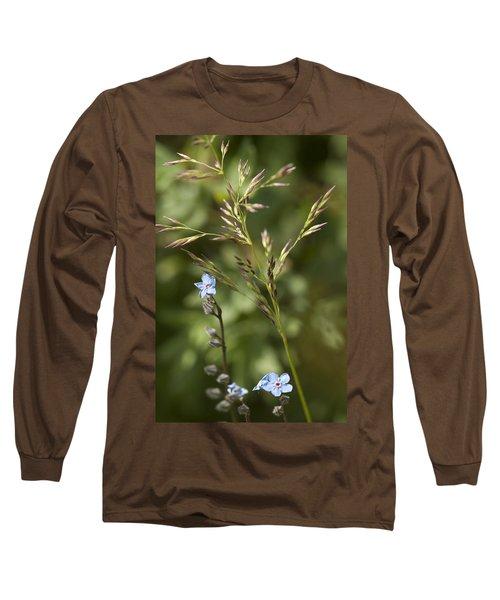 Alaskan Forget-me-nots Long Sleeve T-Shirt