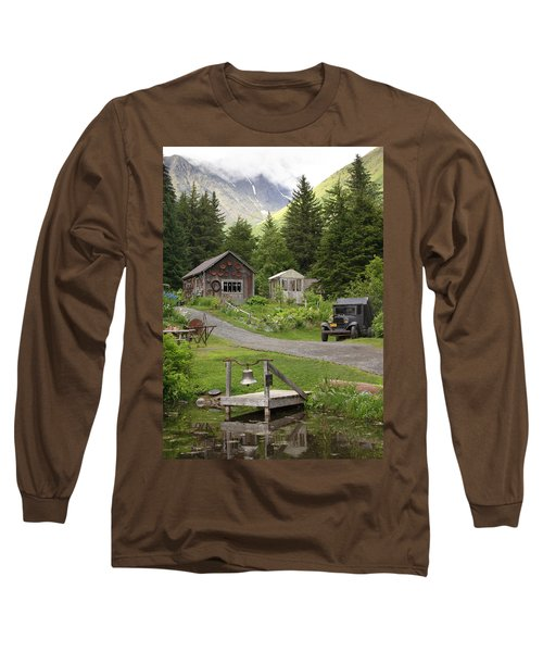 Alaskan Pioneer Mining Camp Long Sleeve T-Shirt