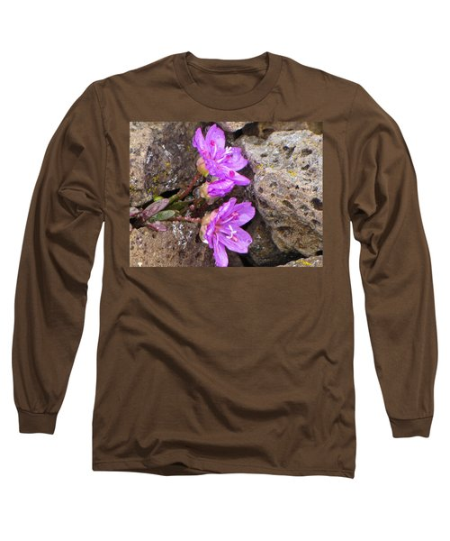 Alaskan Wildflower Long Sleeve T-Shirt