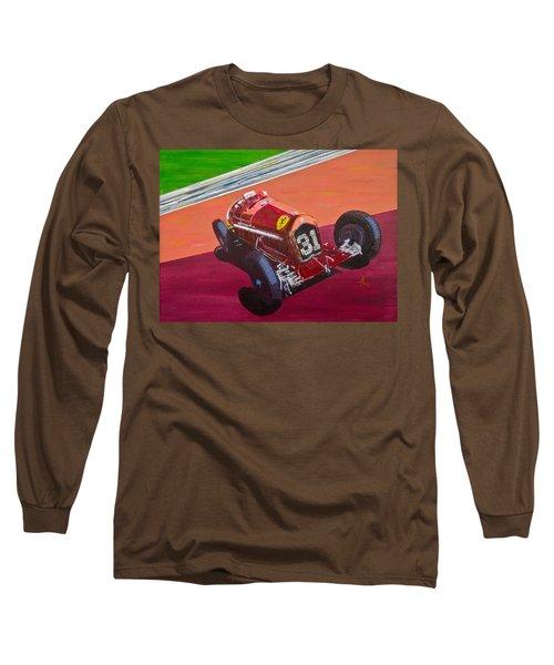 Long Sleeve T-Shirt featuring the painting Alfa Romeo Tipo B P3  by Anna Ruzsan