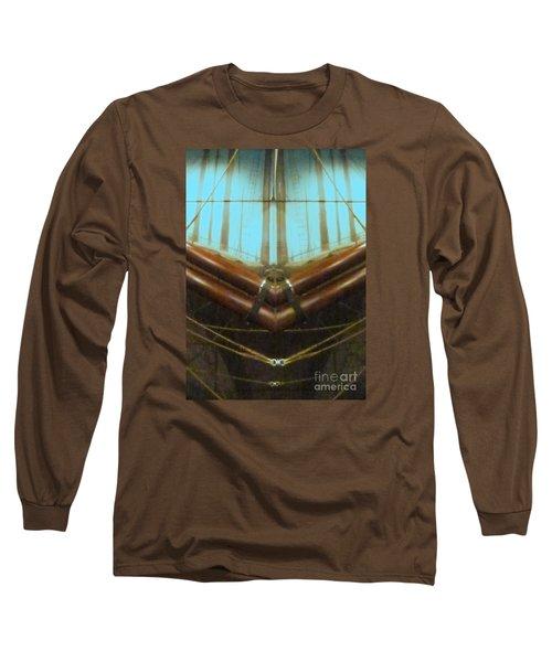 All Fore Naut Long Sleeve T-Shirt by Barbie Corbett-Newmin