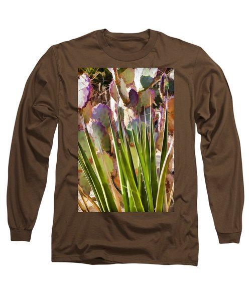 All Pointy And Sharp Long Sleeve T-Shirt