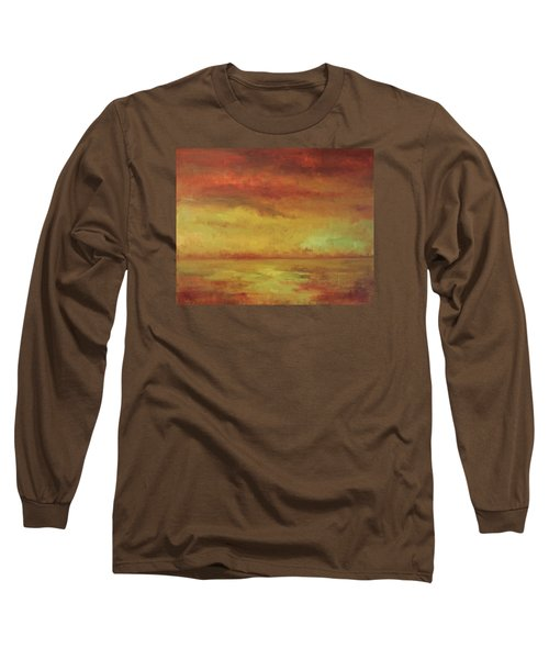 Long Sleeve T-Shirt featuring the painting Allegro by Mary Wolf
