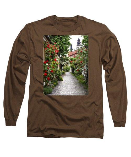 Alley Of Roses Long Sleeve T-Shirt