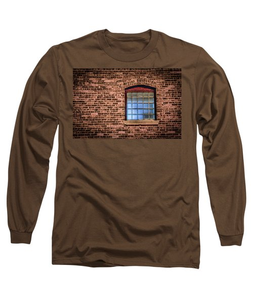 Long Sleeve T-Shirt featuring the photograph Alley Window by Ray Congrove