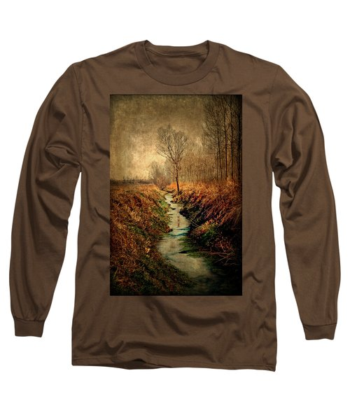 Along The Canal Long Sleeve T-Shirt