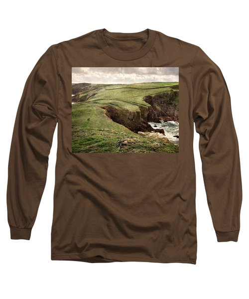 Along The Coast Path Long Sleeve T-Shirt