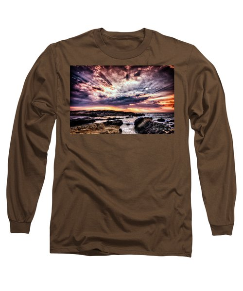 Alpha And Omega Long Sleeve T-Shirt by John Swartz