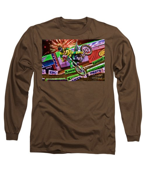 Ama 450sx Supercross Chad Reed Long Sleeve T-Shirt