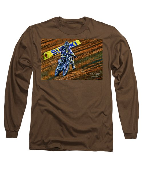 Ama 450sx Supercross Jason Anderson Long Sleeve T-Shirt