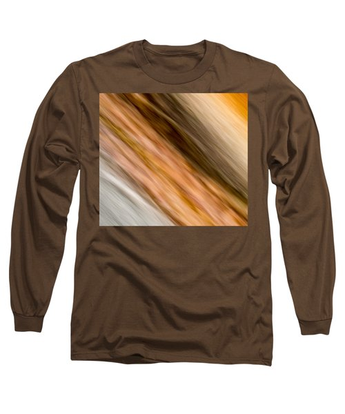 Long Sleeve T-Shirt featuring the photograph Amber Diagonal by Darryl Dalton