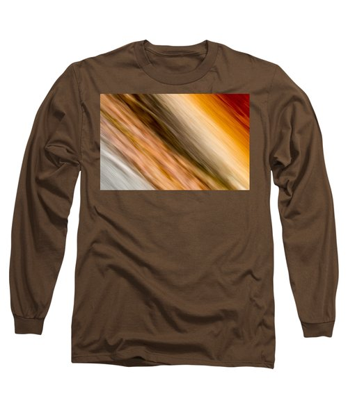 Amber Diagonal Long Sleeve T-Shirt