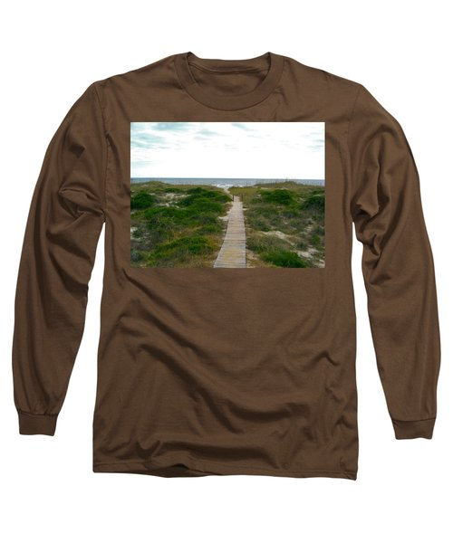Amelia Island Beach Long Sleeve T-Shirt