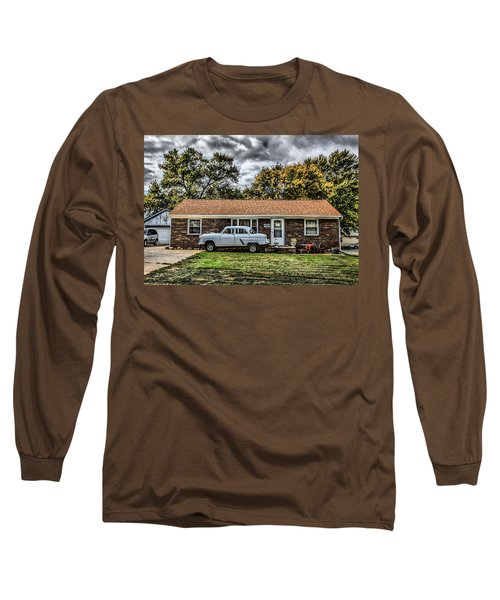 American Dream Revisited  Long Sleeve T-Shirt by Ray Congrove
