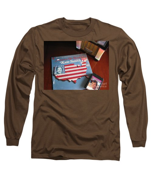 Long Sleeve T-Shirt featuring the photograph American Music by Michael Krek