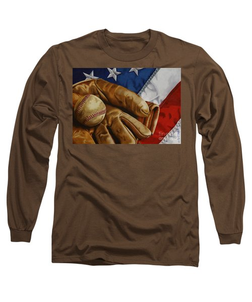America's Pastime Long Sleeve T-Shirt