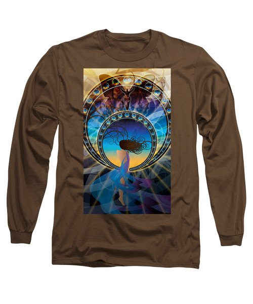 Amore E Nostalgia Long Sleeve T-Shirt by Kenneth Armand Johnson