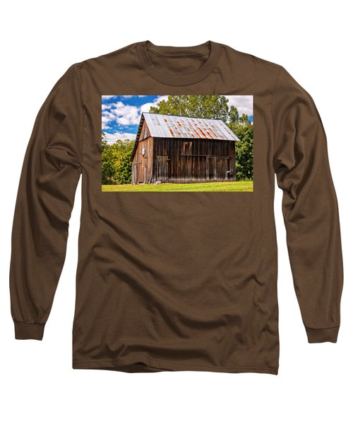 An American Barn 2 Long Sleeve T-Shirt by Steve Harrington