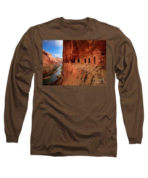 Anasazi Granaries Long Sleeve T-Shirt