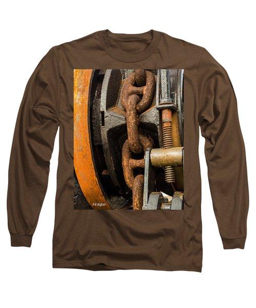 Anchor Chain - Tall Ship Elissa Long Sleeve T-Shirt