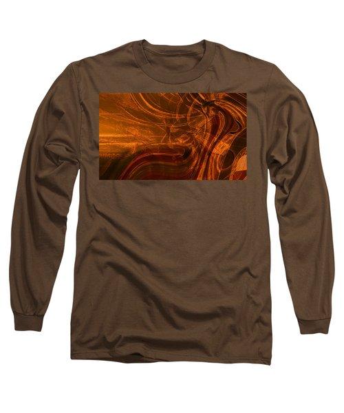 Long Sleeve T-Shirt featuring the digital art Ancient by Richard Thomas
