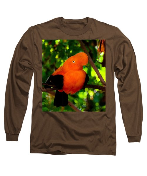 Andean Cock Of The Rock Long Sleeve T-Shirt