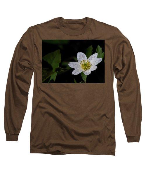 Anemone Nemorosa  By Leif Sohlman Long Sleeve T-Shirt