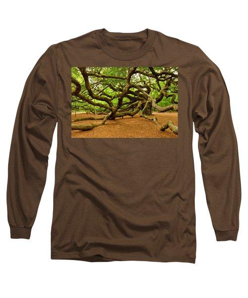 Angel Oak Tree Branches Long Sleeve T-Shirt