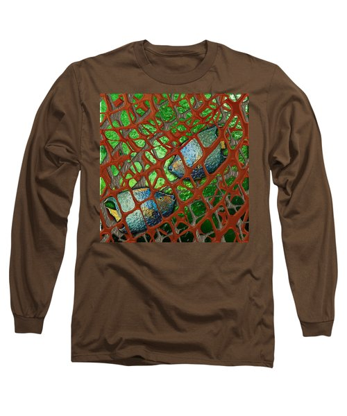 Angels Caught In An Emerald Pool Long Sleeve T-Shirt